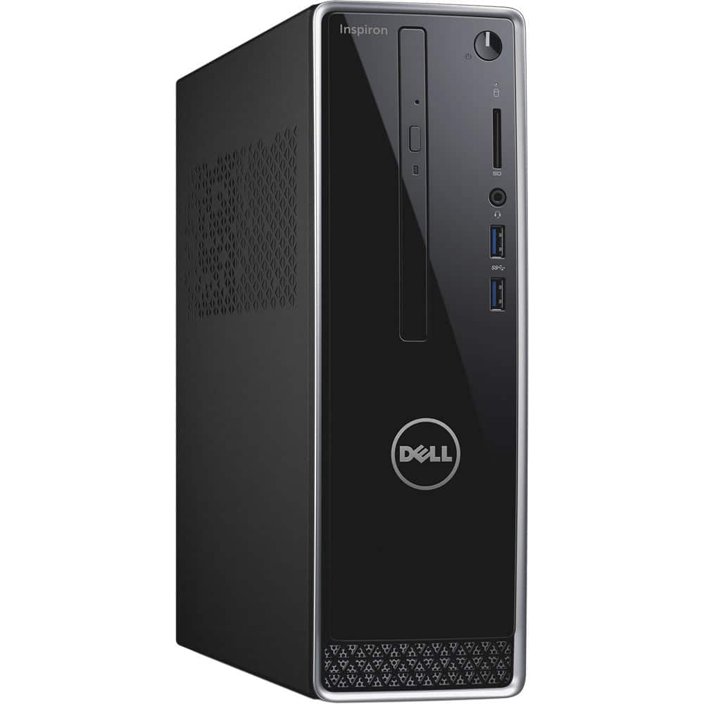 Dell Inspiron 3250 Small Desktop: Intel i3-6100 CPU, 4GB DDR3, 1TB HDD, DVDRW, WiFi N, Win 10 Home $250 after $50 slickdeals rebate + Free shipping