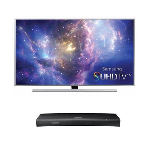 Samsung SUHD 3D Smart LED HDTV's: UN55JS8500 + UBD-K8500 4K Blu-ray Player $1475 or w/ UN48JS8500 TV $1175 + free shipping