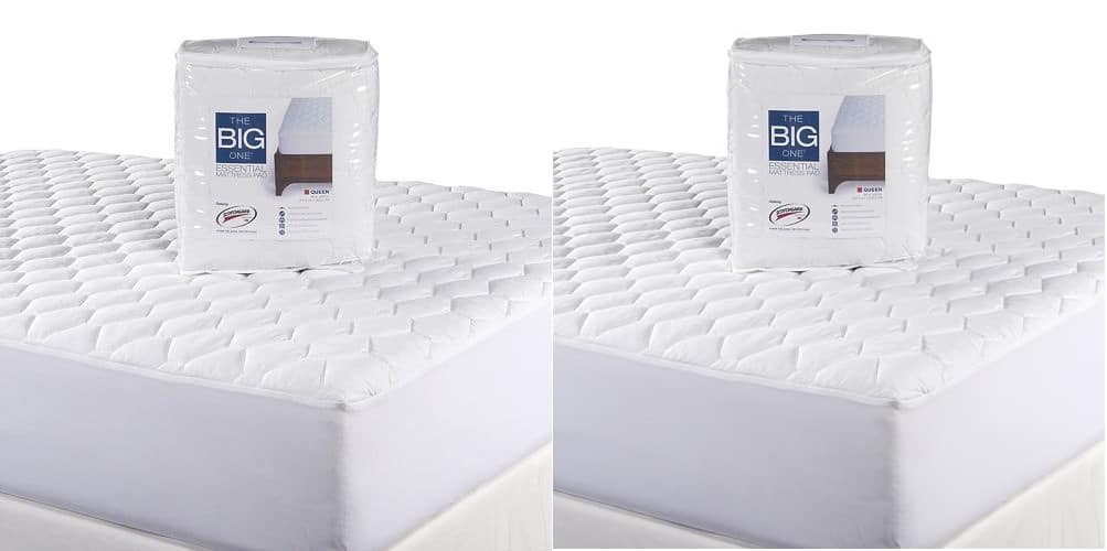 The Big One Essential Mattress Pad: King 2 for $25.50, Queen  2 for $20.50 + Free Store Pickup