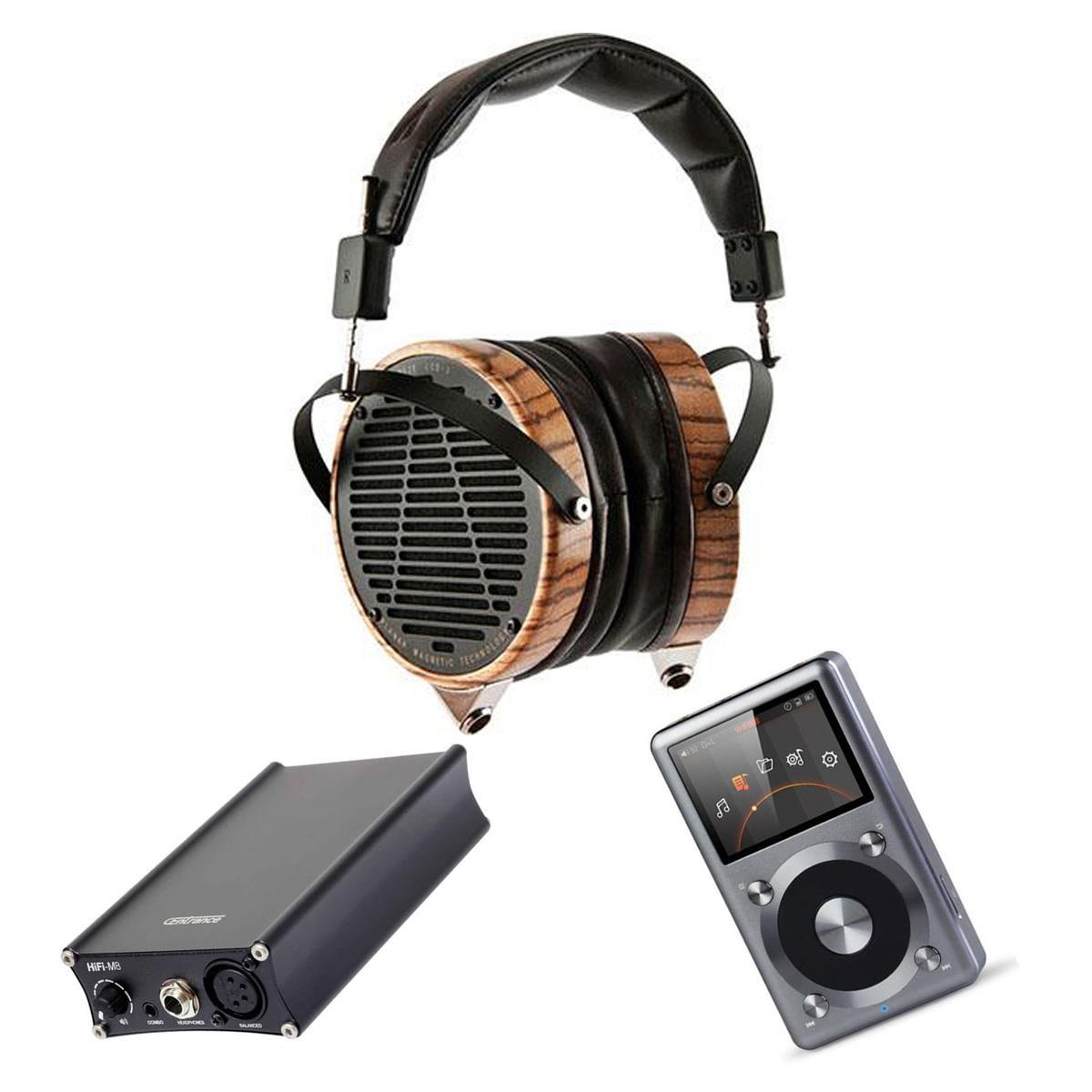 Audeze LCD-3 Planar Magnetic Headphones + Centrance HIFI-M8 XL4 Balanced Amp/Dac + FiiO X3 $1945 + free shipping