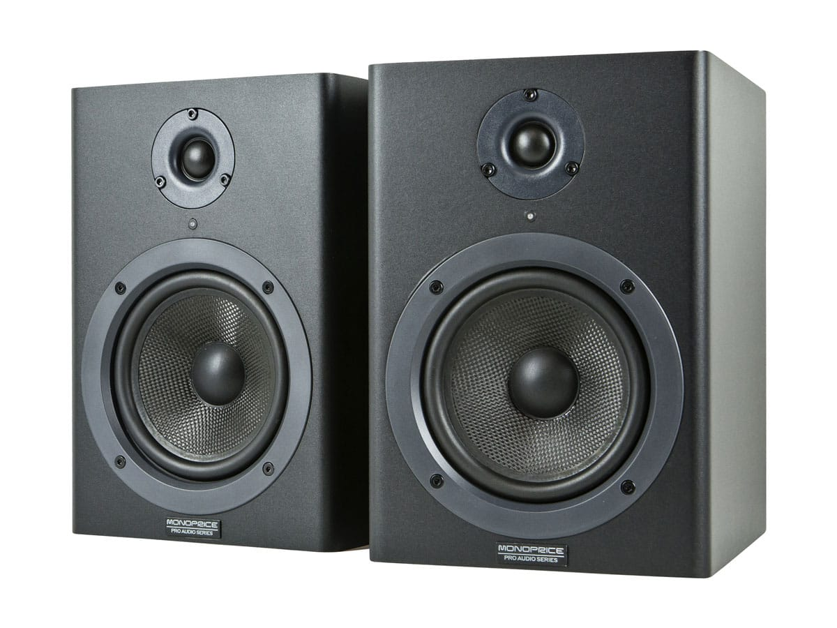 5-inch Powered Studio Monitor Speakers (pair) @monoprice.com $109.99 FS (TODAY ONLY)