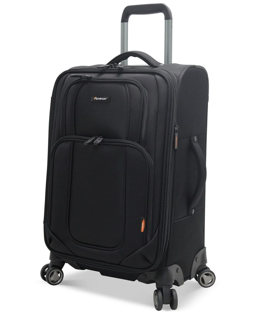 "3-pc 21"", 25"" and 29"" Pathfinder Spinner Luggage Set - $82 AC and Amex offer @ Macys"