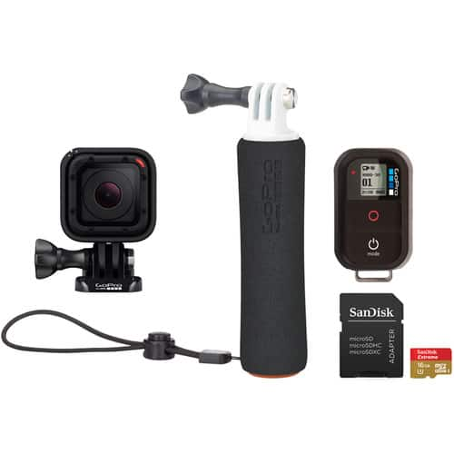 GoPro Session with wifi remote and the handler $199 at BH Photo
