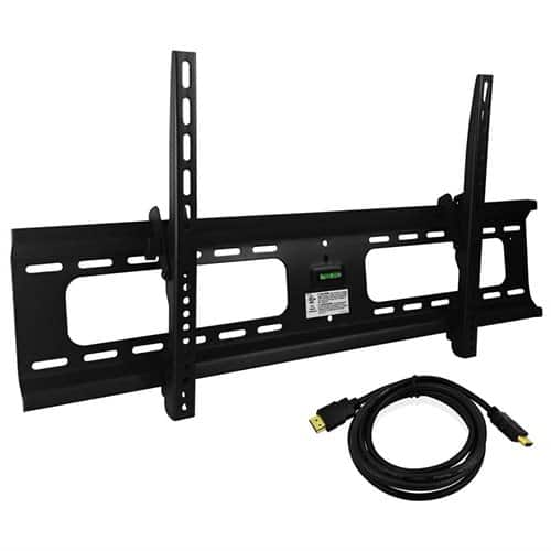 "Ultra-Slim 37-70"" VESA Flat TV Tilting Wall Mount+ HDMI Cable $13 + free shipping"
