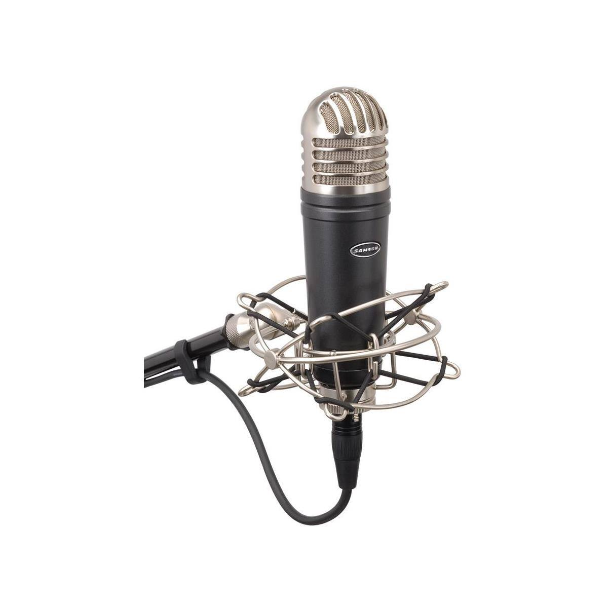 Samson MTR101A Diaphragm Studio Condenser Microphone w/ Shockmount & Pop Filter $50 + Free Shipping