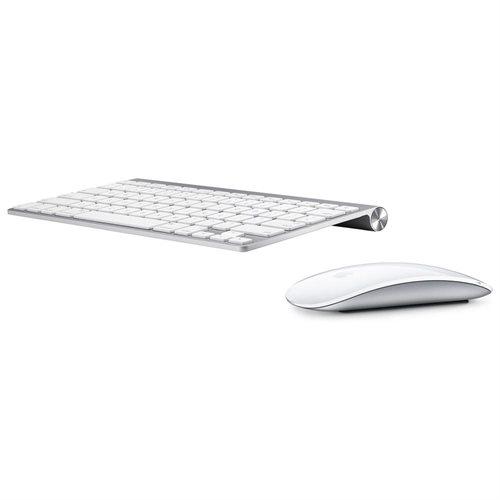 Apple Macbook Bluetooth Wireless Magic Mouse & Keyboard (refurb) $55 + free shipping (masterpass)