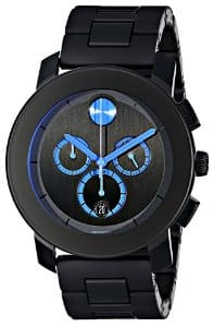 MOVADO Bold Chronograph Dark Grey and Red Men's Watch - $225 at Jomashop+Free S/H