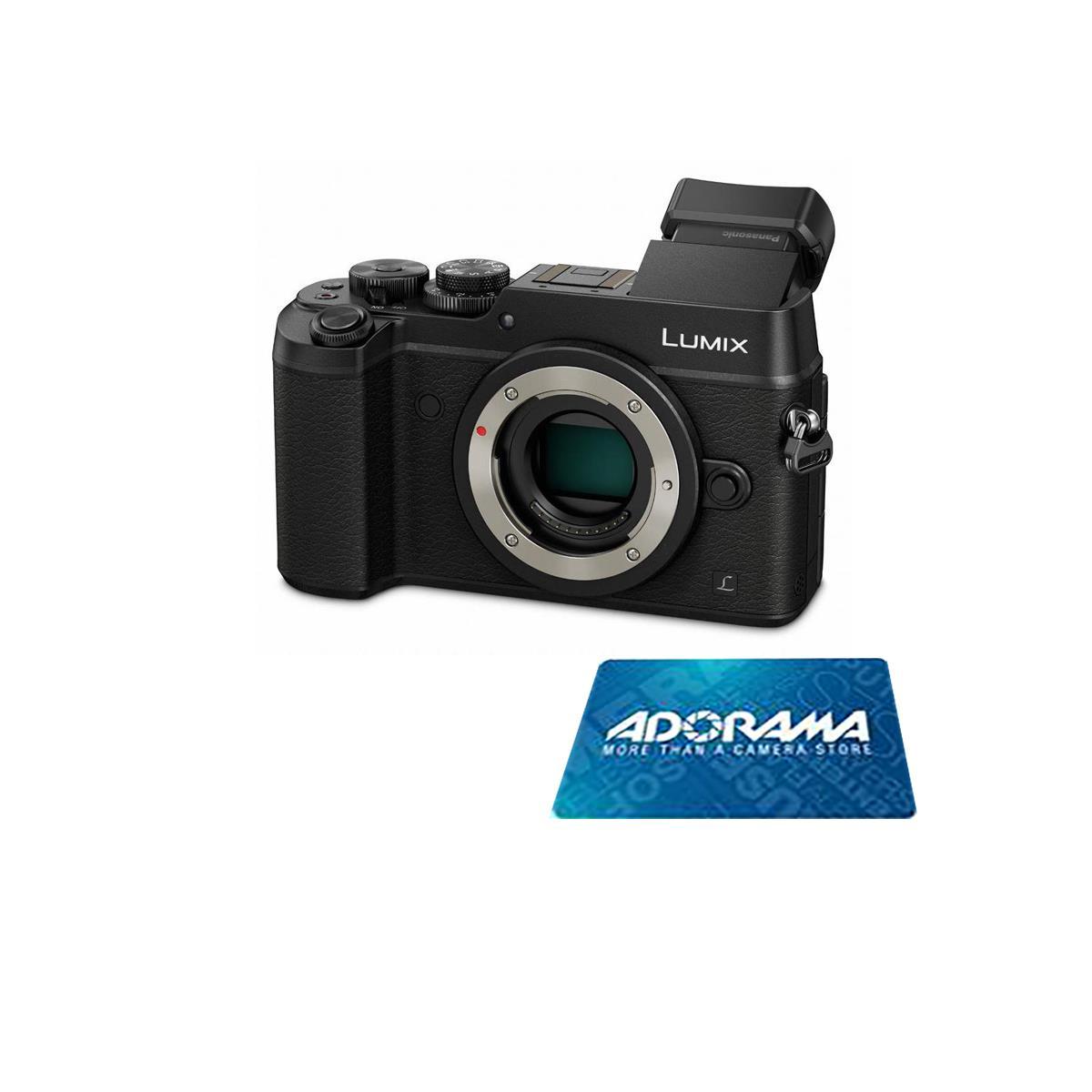 Panasonic DMC-GX8 Mirrorless Digital Camera (Body) + 12-60mm F/3.5-5.6 Lens + $150 Adorama Gift Card $1198 + free shipping