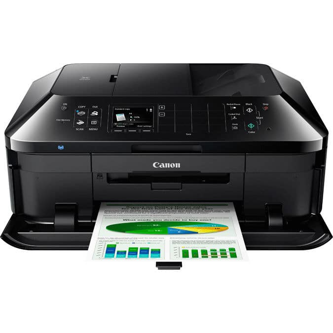 Canon PIXMA MX922 Wireless All-In-One Photo Printer w/ Scanner, Copier & Fax $70 + Free Shipping