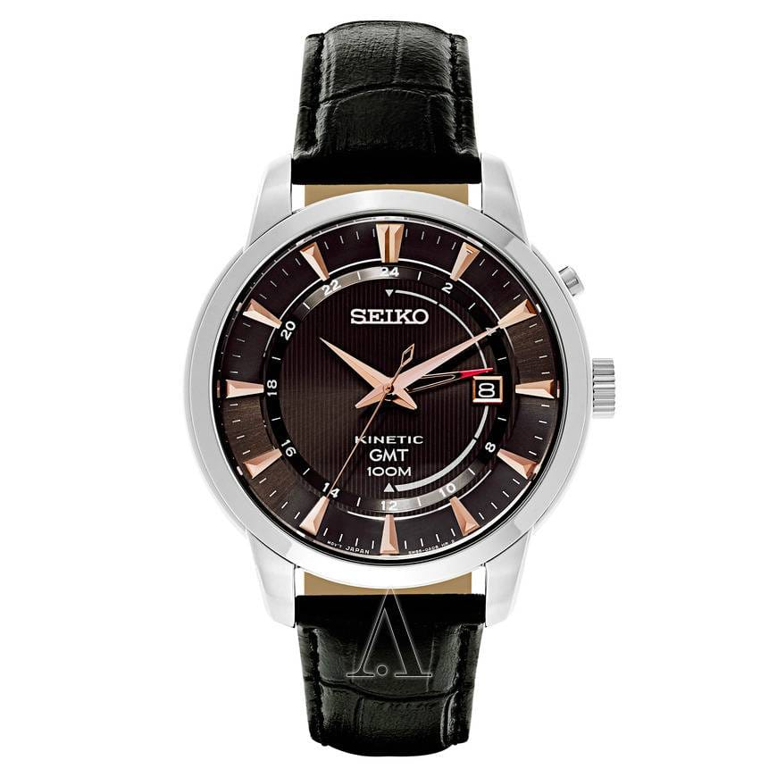 Seiko Men's Core GMT Kinetic Watch for $99 shipped. ($228 and up elsewhere)