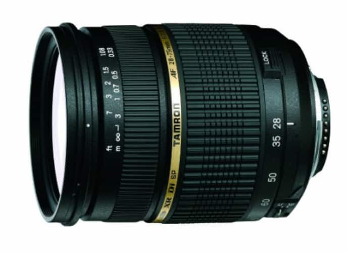 Tamron AF 28-75mm f/2.8 SP XR Di LD Aspherical (IF) Lens for Sony $299 after $200 Slickdeals Rebate + Free shipping