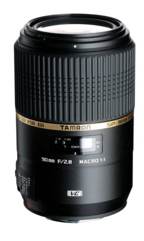 Tamron SP 90mm F/2.8 DI VC Macro Lens for Canon EF Bodies $499 after $250 Slickdeals Rebate + Free shipping
