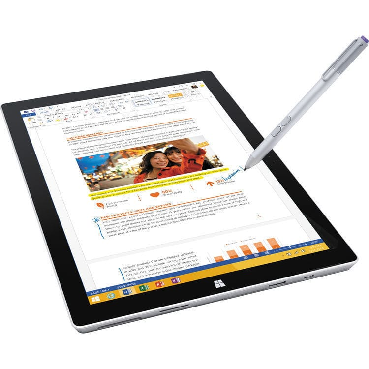 512GB Microsoft Surface Pro 3 Tablet w/ i7 & 2160x1440 Screen $1150 + free shipping
