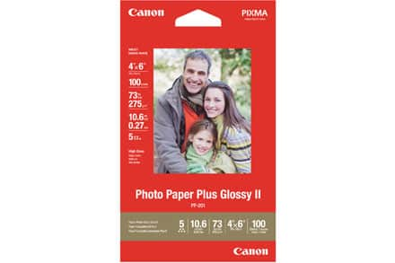 "Canon Photo Paper: Buy 1 Get 9 Free + 50% Off : 20-Sheet 8""x11"" $7, 20-Sheet 5""x7"" $4.25 & More + S&H"