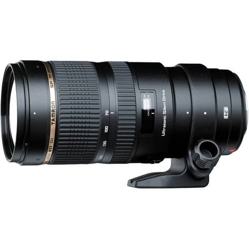 Tamron SP 70-200mm F/2.8 DI VC USD Telephoto Lens (Canon, Nikon) $949 after $550 slickdeals rebate + Free shipping