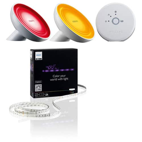 Philips Friends of Hue Wireless LED Kit w/ 2 Bloom Bulbs and Lighting Strip $145 + free shipping