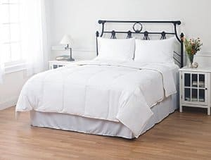 Exceptional Sheets 100% Cotton White Duck Down Baffle Box Comforter 550 Fill Power: Queen (35oz Fill) $40, King (45oz Fill) $50 + free shipping
