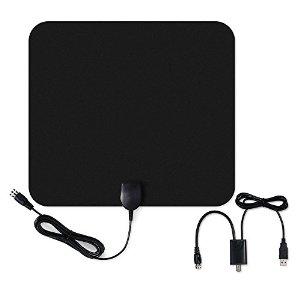 Homasy 50 Mile Thin Amplified HDTV Antenna $15 @ Amazon