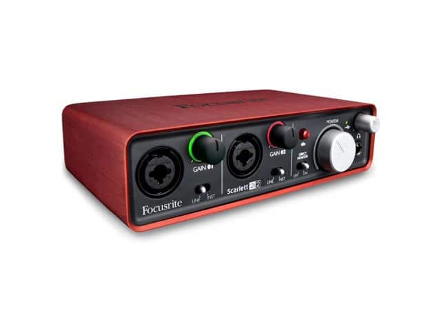 Focusrite Scarlett 2i2 USB Recording Interface $99 + free shipping
