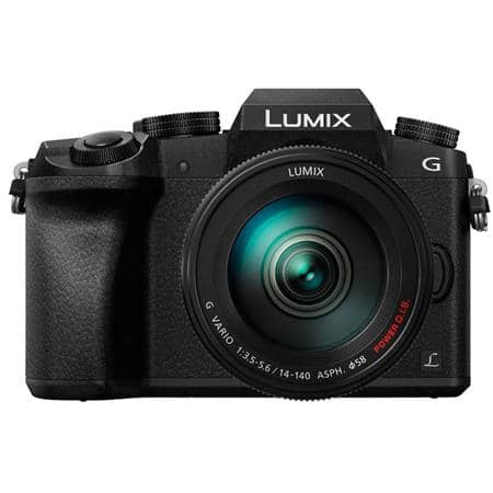 Panasonic DMC-G7 Camera w/ 14-140mm Lens & 25mm f/1.7 Lens + $150 Adorama GC  $998 + Free Shipping