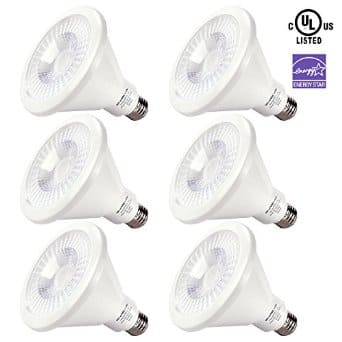6-Pack Shine Hai 15w E26 Base PAR38 LED Bulbs:  (Dimmable 90W Equivalent, 3000K, UL, Approx 1000+ Lumen) $36 + free shipping