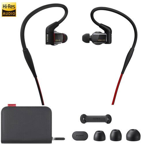 Sony XBA-H3 Hybrid 3-way Driver In-Ear Headphones $149 + free shipping