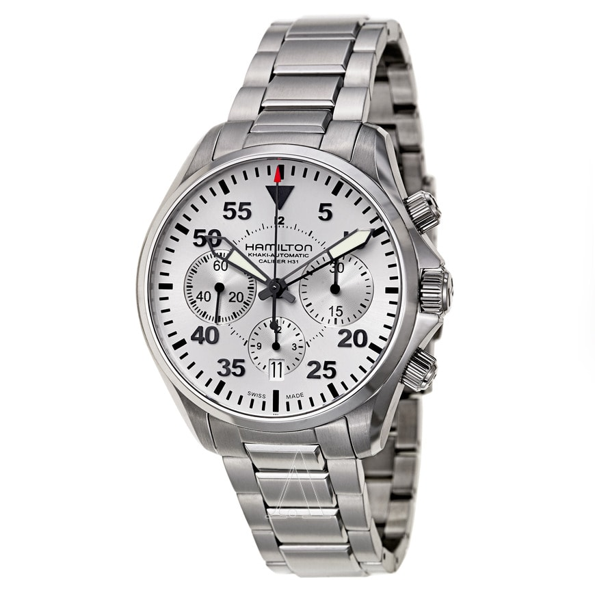 Hamilton Khaki Aviation Pilot Automatic Chronograph Watch $699 + free shipping