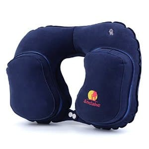 *back* Andake Inflatable Travel/Neck Pillow $6 @ Amazon