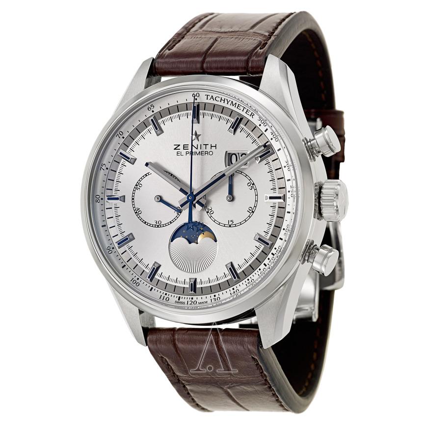 Zenith Men's El Primero Helios Moonphase Automatic Chronograph Watch $4795 + free shipping