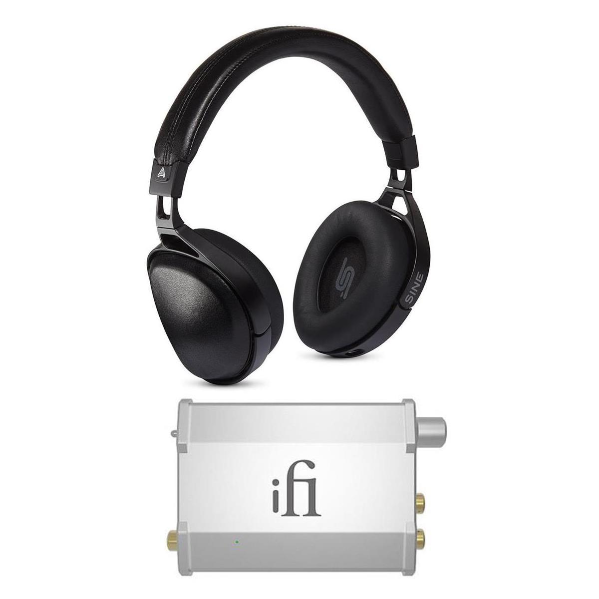 Audeze SINE On-Ear Closed-Back Headphones + iFi Nano-iDSD Amp / Dac $449 + free shipping