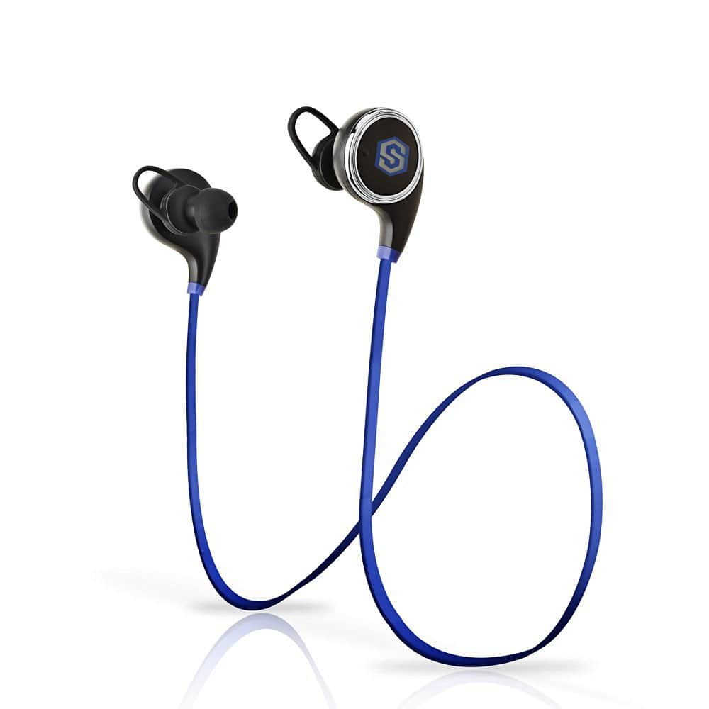 SmartOmni i8  Bluetooth 4.1 Wireless Headphones w/ Mic $9.99 - Amazon Prime Free Shipping