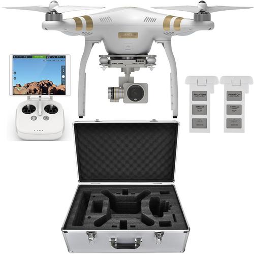 DJI Phantom 3 PRO Quadcopter Drone w/ 4K Camera + 2nd Battery, Case $875 + free shipping