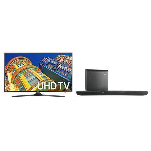 """70"""" Samsung UN70KU6300 4K UHD HDR LED HDTV + Polk MagniFi One Soundbar $1599 + free shipping"""