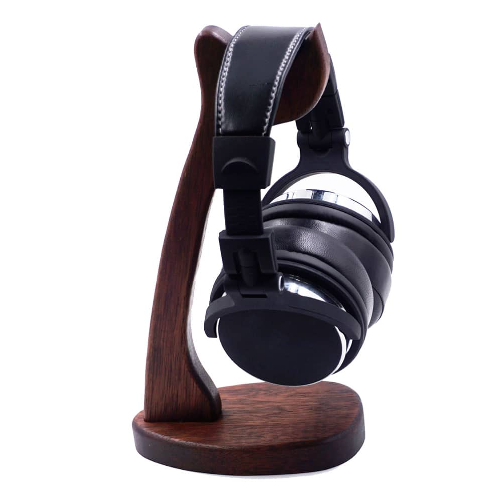 Merbau Solid Wood Headphone Stand $9.80 + free shipping