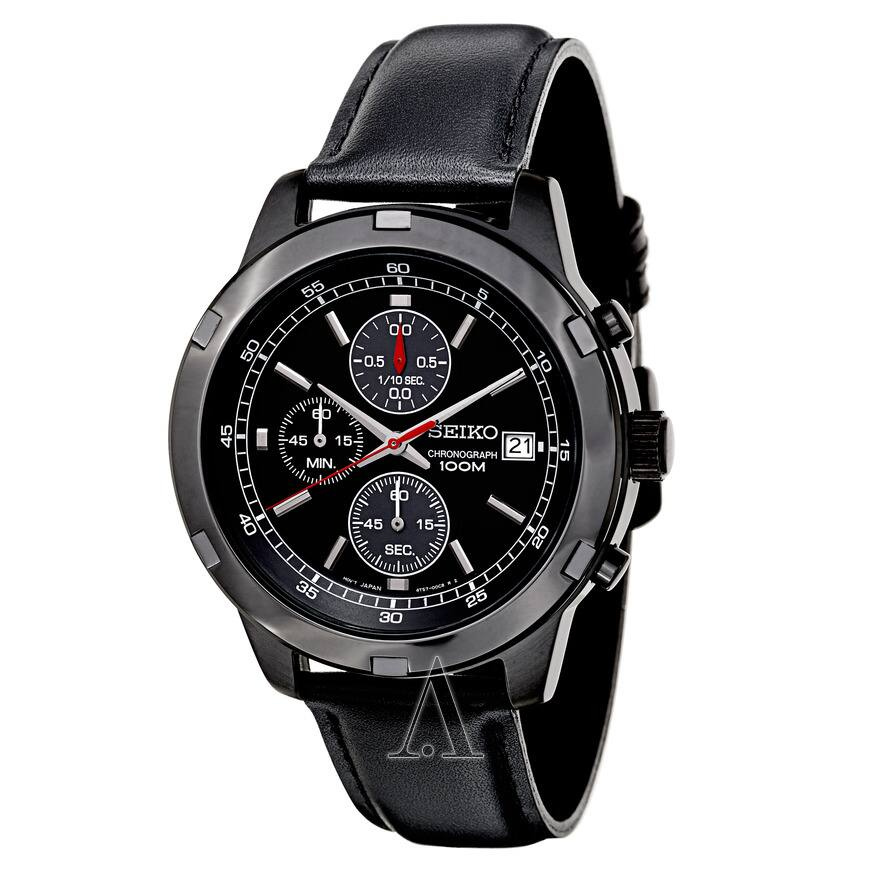 Seiko SKS439 Men's Stainless Steel Chronograph Watch $69 + Free Shipping