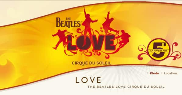 Cirque Du Soleil: The Beatles LOVE $76