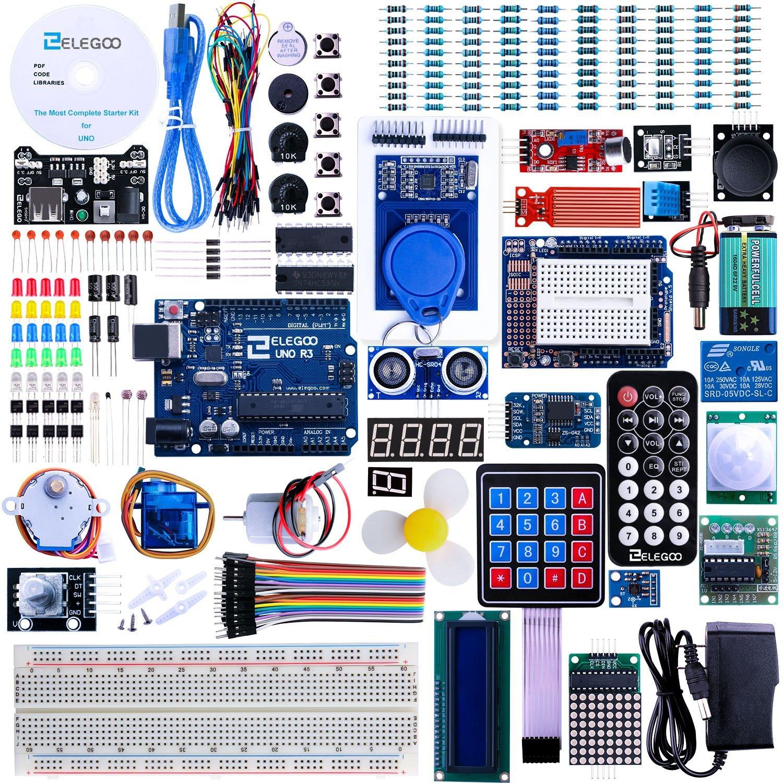 Elegoo arduino uno r project most complete starter kit
