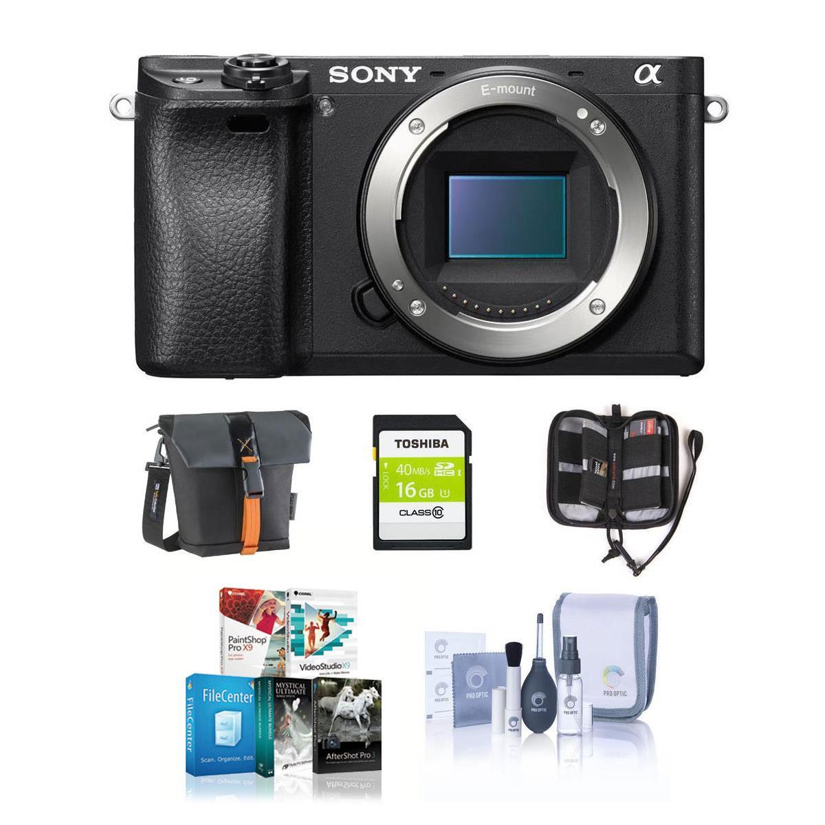 Sony a6300 Mirrorless Digital Camera (body) $898 or Sony a6300 Mirrorless Digital Camera + 16-50mm Lens + rewards $1048 + free shipping