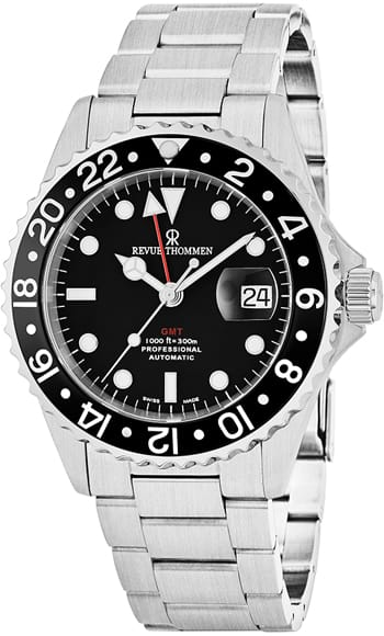 Revue Thommen Diver GMT Automatic Watch $525 + free shipping