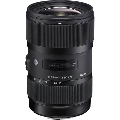 Sigma Lens Sale (from $149). AF 18-35mm f/1.8 $699, 30mm F1.4 ART $399, 50-100mm f/1.8 $999 or less & More + Free Shipping