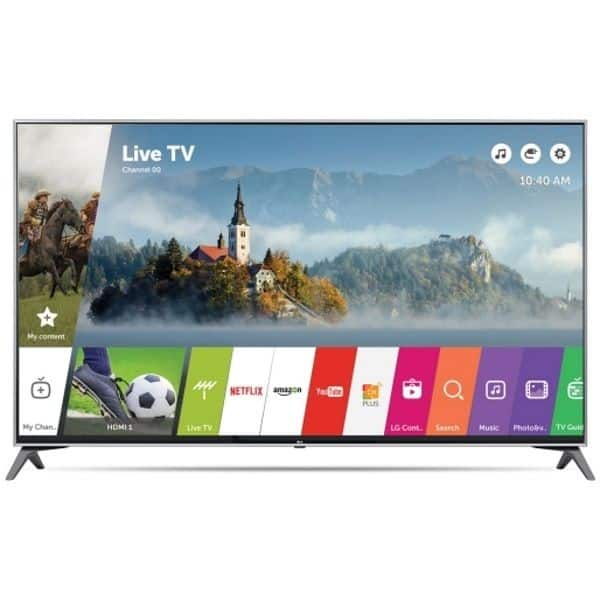 "49"" LG 49UJ7700  UHD 4K HDR Smart LED TV (2017 Model) $550 + Free Shipping"