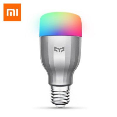 9w Xiaomi Yeelight E27 Smart LED Bulb (dimmable, wifi, RBG) $10 + free shipping