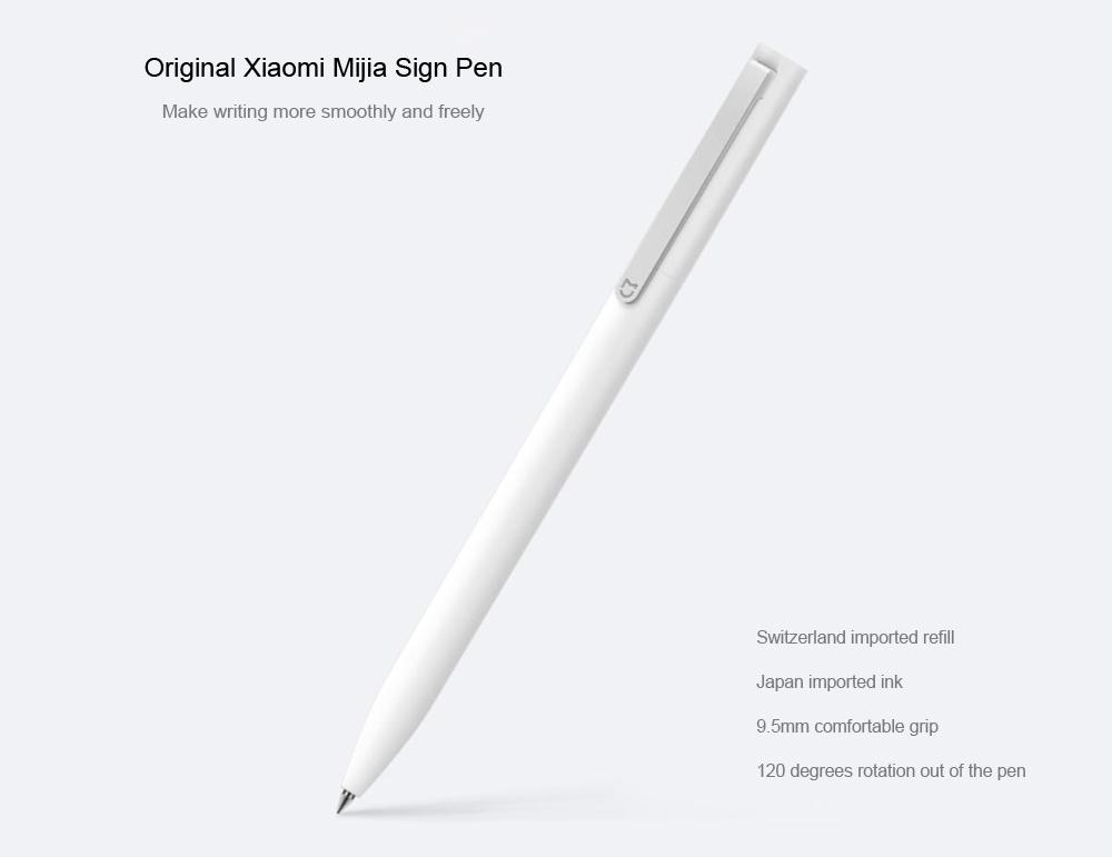 Xiaomi Mijia 0.5mm Sign Pen $1.29 + free shipping