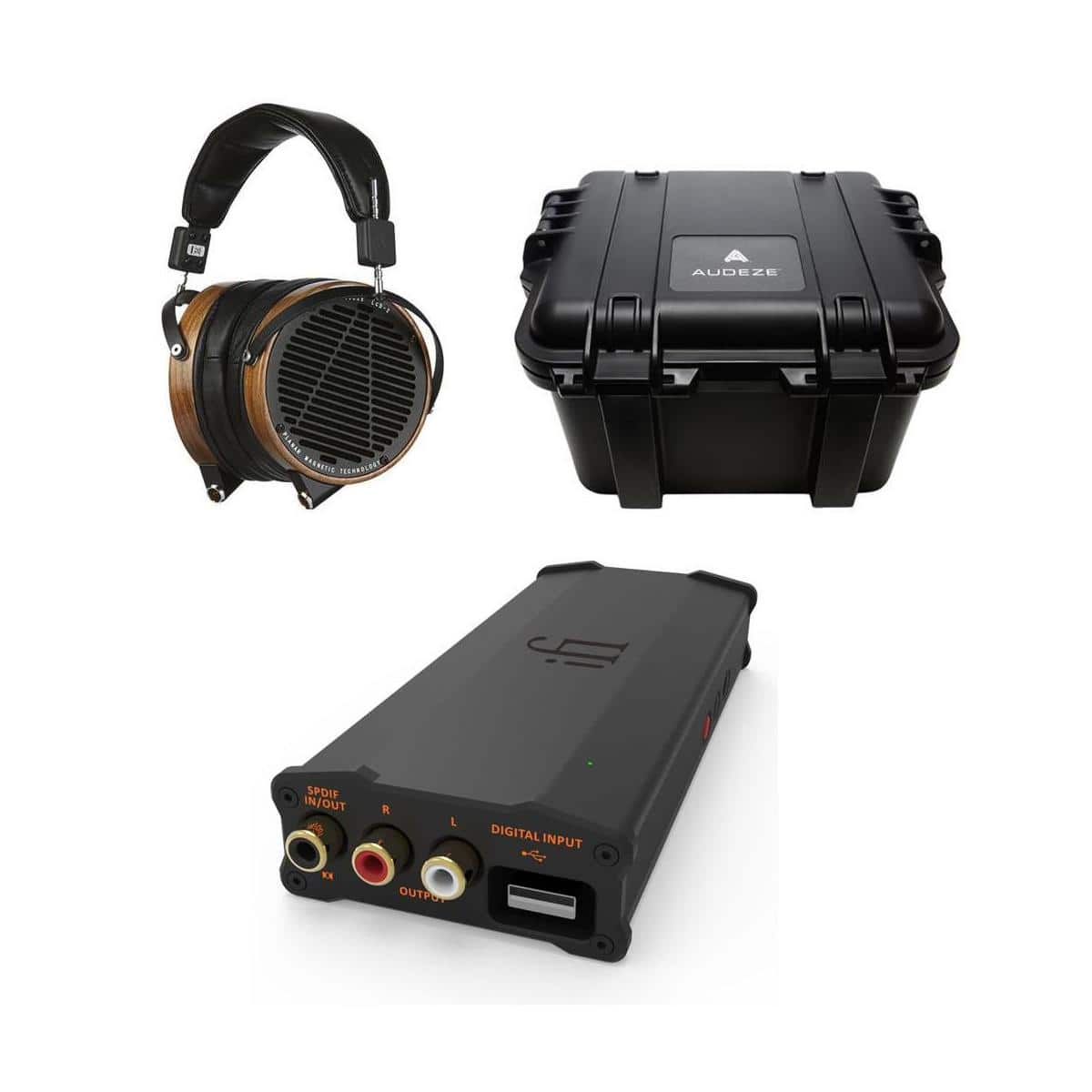 Audeze Sale: LCD-2 $699 or w/ Micro iDSD $995, LCD-3 + Pro iCAN  $2300 & More + Free S&H
