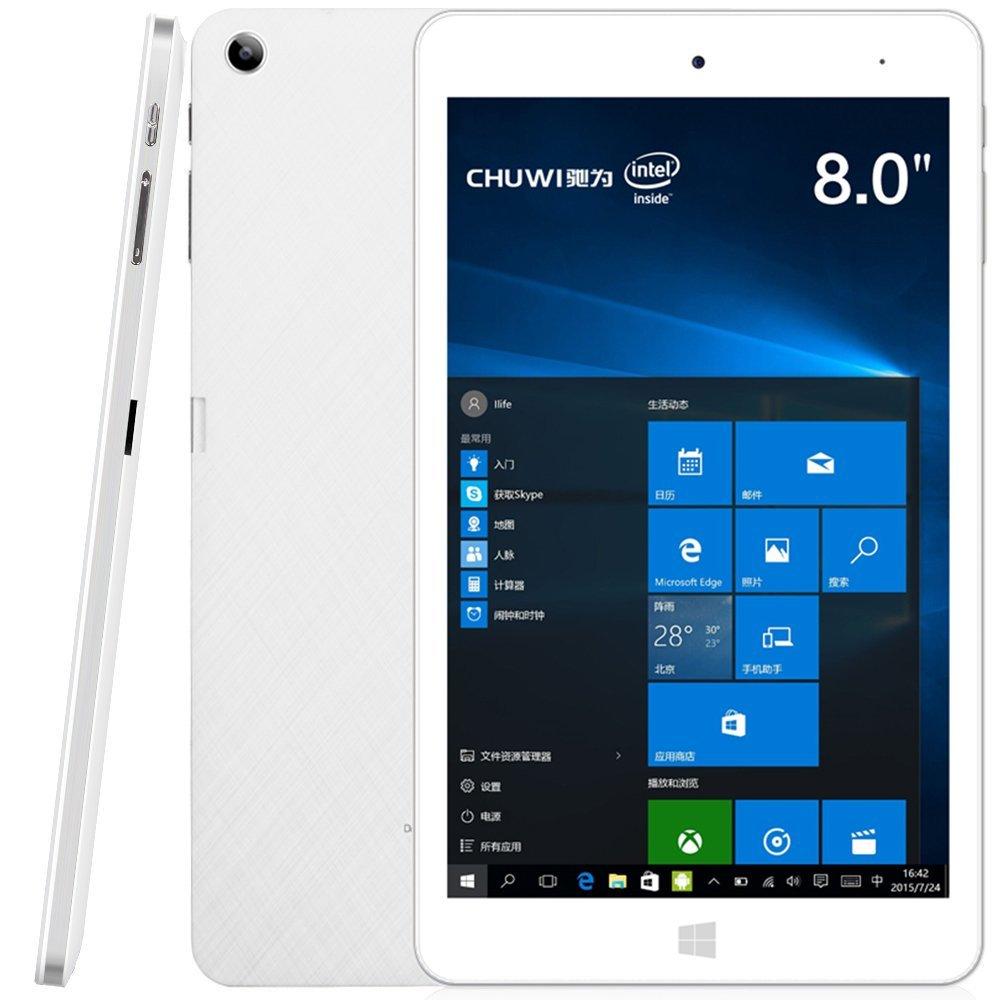CHUWI Hi8 Pro 8 Tablet (2017): Z8350, 2GB RAM, 32GB eMMC, Windows 10 + Android 5.1, HDMI USB-c $99 + free shipping