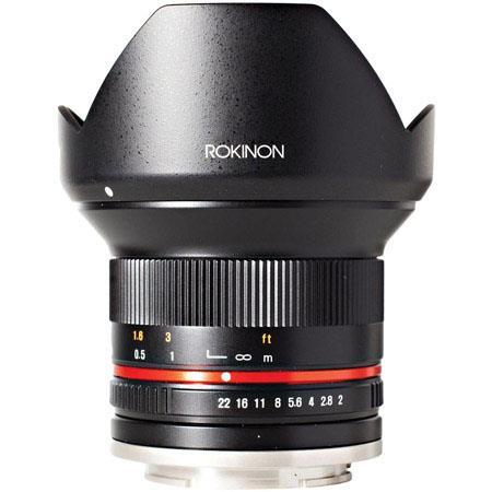 Rokinon Lens Sale: 8mm $200 to $250, 12mm f/2.0  $289, 85mm T1.5 Cine $280, 14mm f/2.8 $300, 50mm OR 35MM T1.5 Cine $399 & more + free s/h