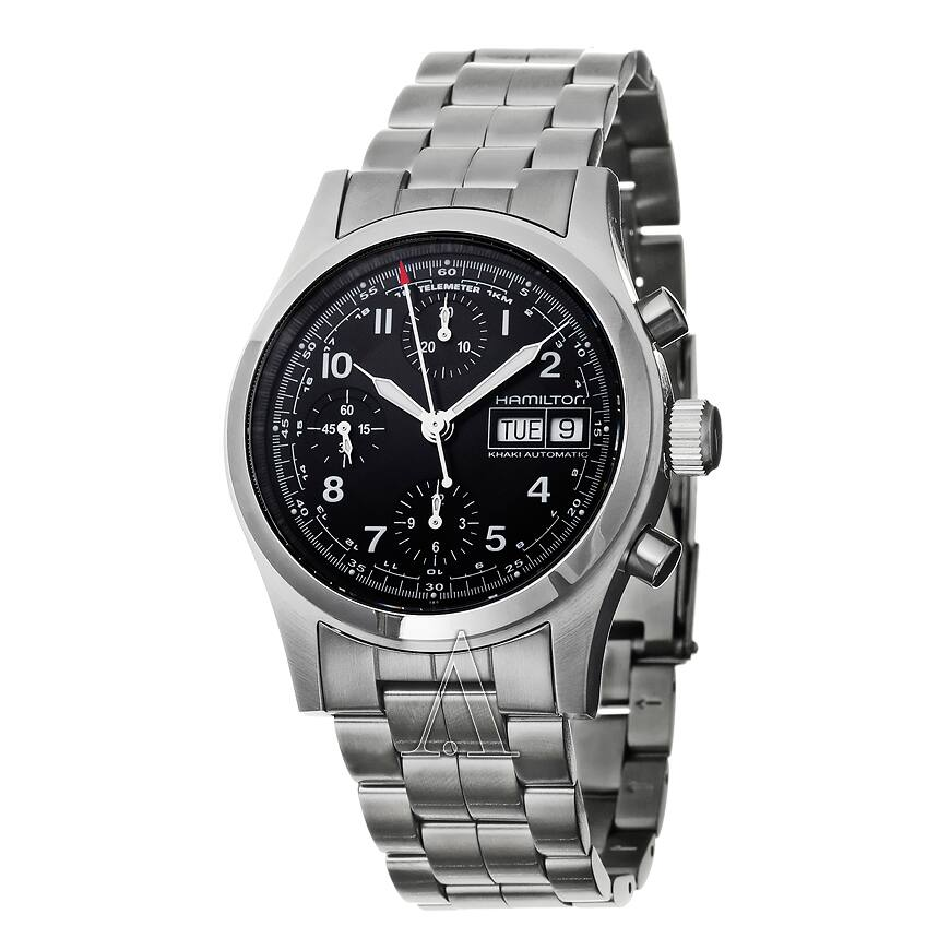 39b07c850 Hamilton Men's Khaki Field Automatic Chronograph Watch - Slickdeals.net