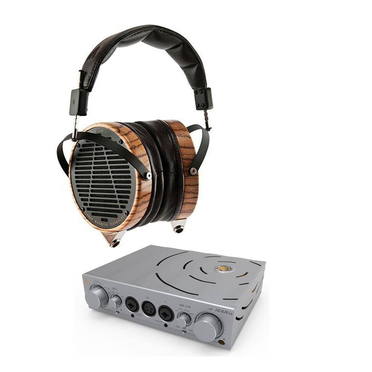 iFi Pro iCAN Amp + Audeze LCD-3 $2299 or iFi Pro iCAN + iESL Electrostatic Energizer $2399 + free shipping