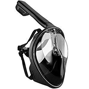 OMorc Carbon Fiber Snorkel Mask (S/M) $23 + free shipping
