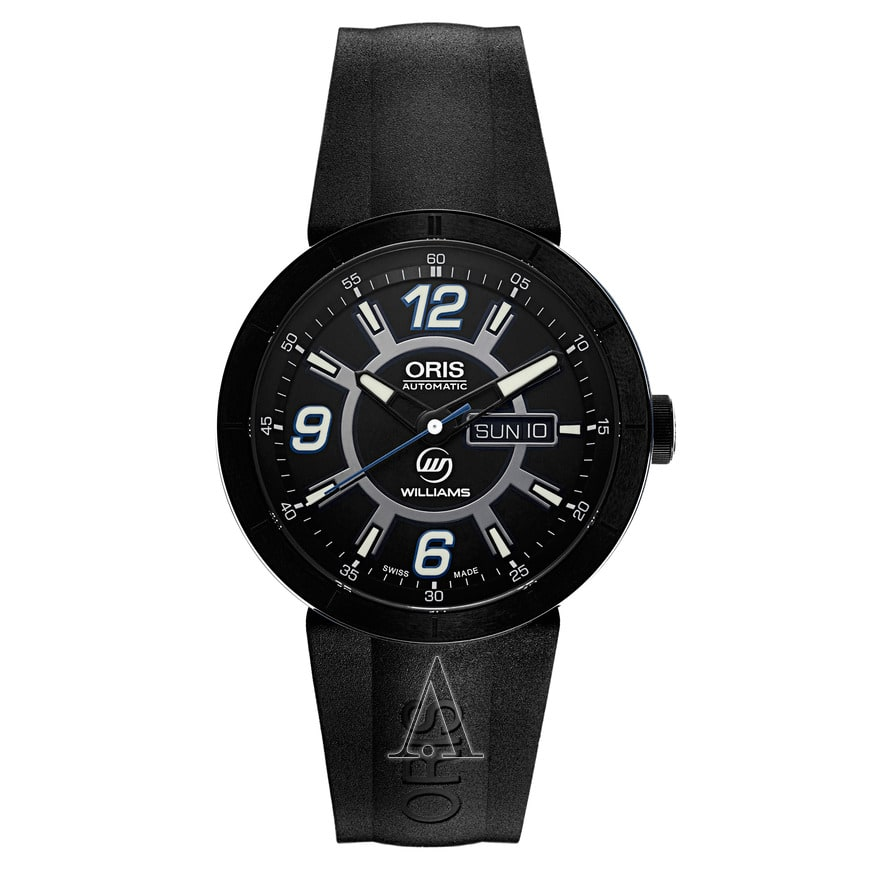 Oris Men's TT1 Williams F1 Team Day Date Automatic Watch $579 + free shipping